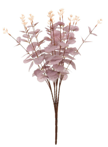 Artificial Soft Pink Eucalyptus Bunch