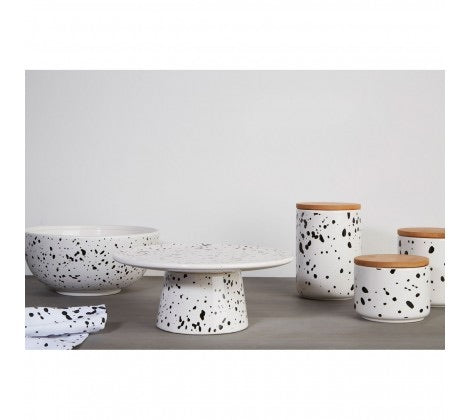 Speckled Ceramic Cake Stand