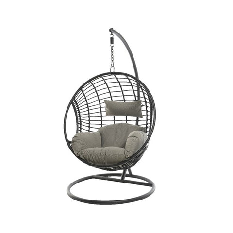 Round Black Hanging Chair