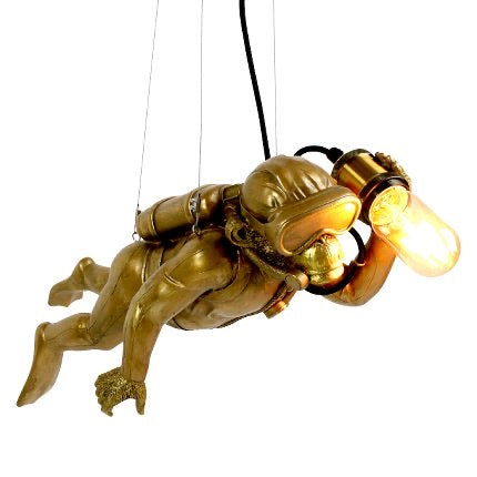 Diver Dave The Monkey Hanging Light