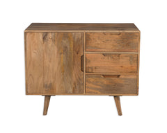 Scandi Mango Wood Small Sideboard