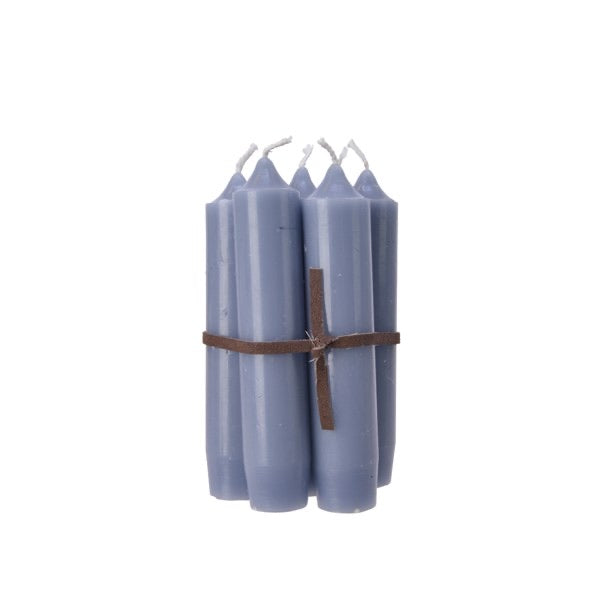 Bundle of 7 Blue Candles