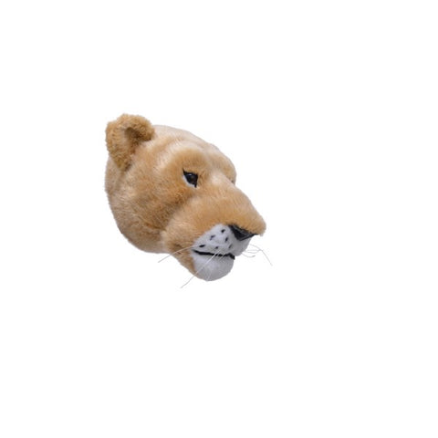 Plush Wall Mounted Lions Head
