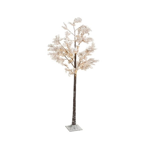 White Blossom Tree with LED Lights 180cm