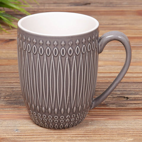 Dark Grey Coffee Mug