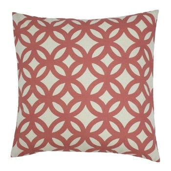 Brick Geometric Cushion