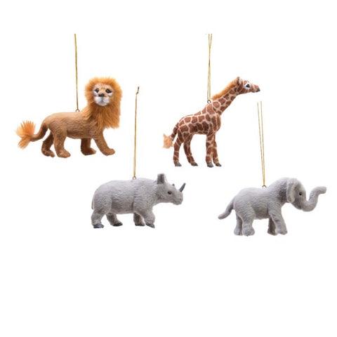 Safari Animal Hanging Bauble