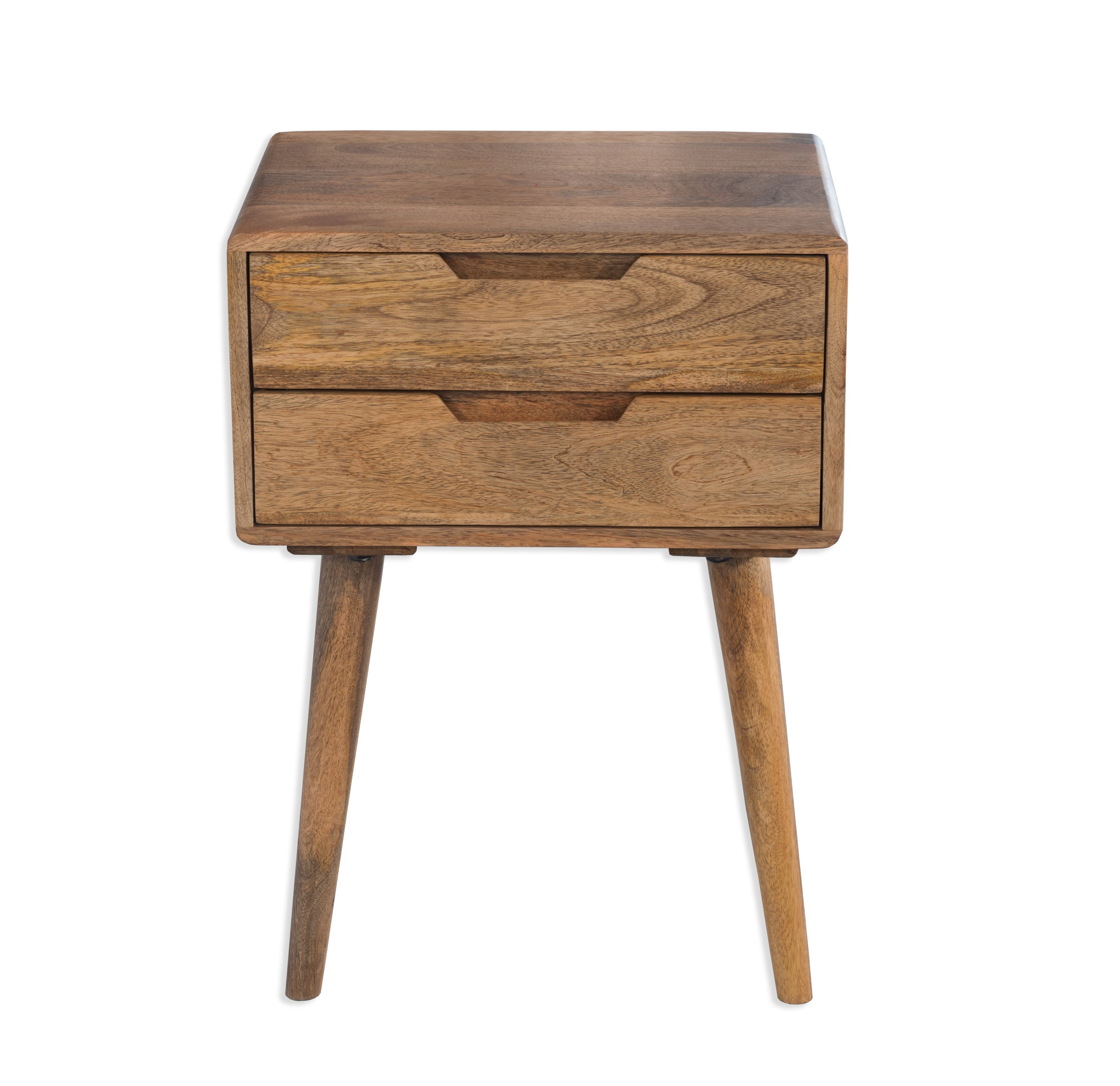 Scandi Mango Wood Bedside Table