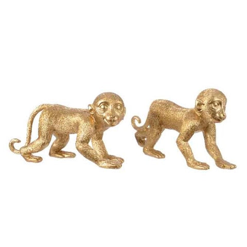 Gold Walking Monkey