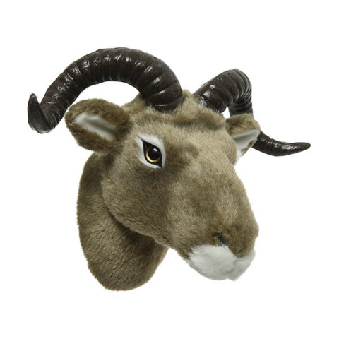 Small Plush Wall Mounted Goats Head