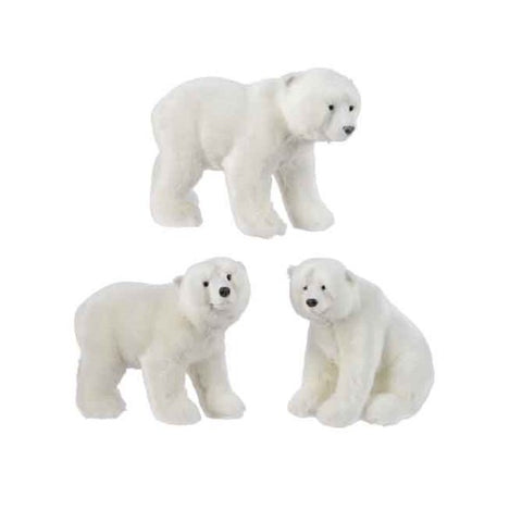 Small Plush White Polar Bear