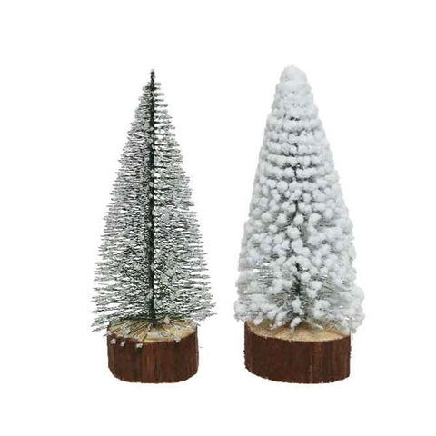35cm Mini Tree on Wooden Foot
