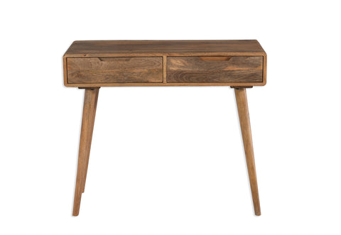 Scandi Mango Wood Console Table