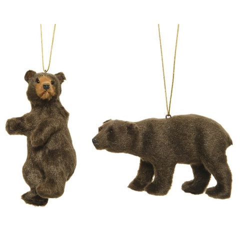 Hanging Brown Bear Decoration