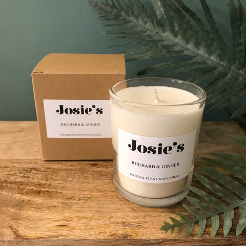Rhubarb & Ginger Large 20cl Candle