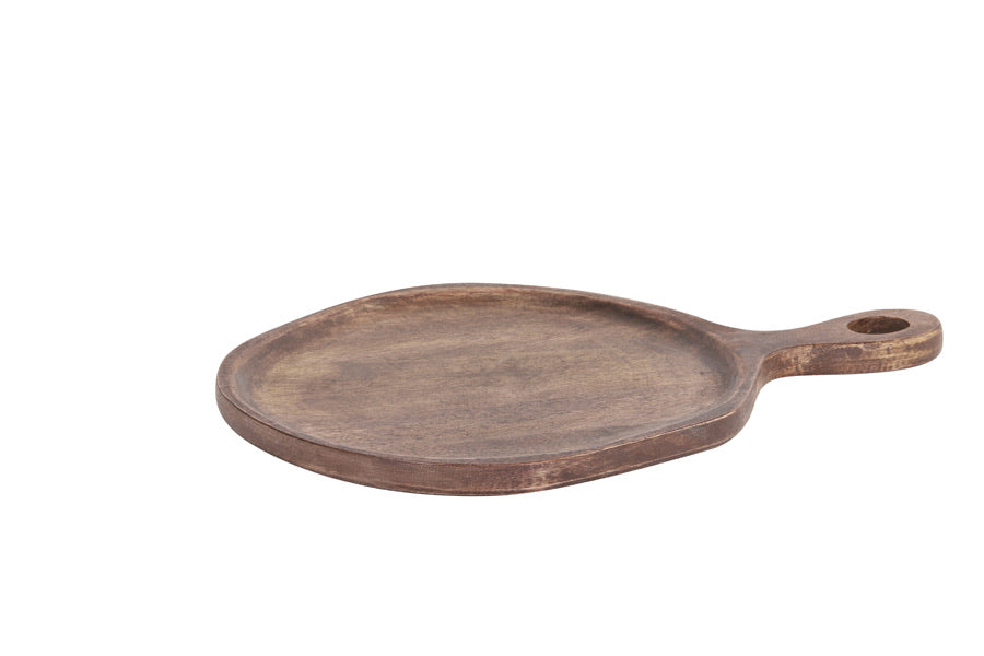 Small Brown Serving Platter