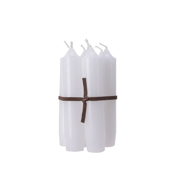 Bundle of 7 White Candles