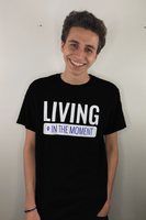 Living In The Moment T-Shirt (Black)