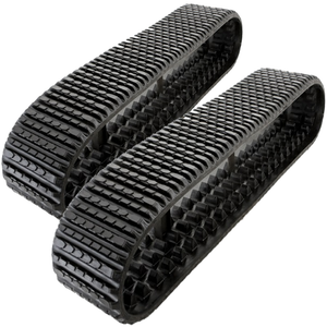 "2 Rubber Tracks Fits ASV RT75 18X4CX51 18"" Wide"