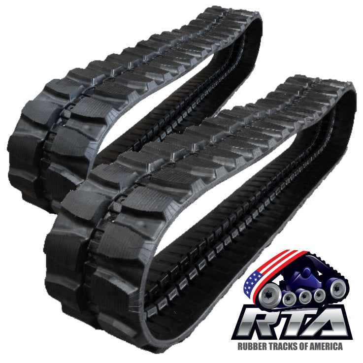2 Rubber Tracks - Fits Hitachi Zaxis 40 Zaxis 50 400X72.5X72 Free Shipping