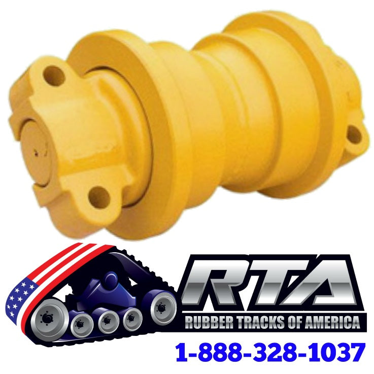 Single Flange Bottom Roller - Fits John Deere 350C Dozer ID512 Free Shipping