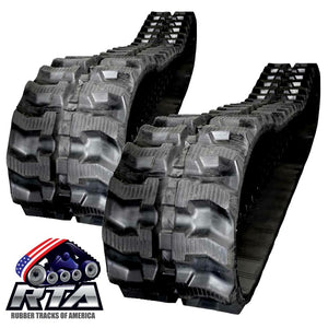 2 Rubber Tracks - Fits JCB 8016 230X48X62 Free Shipping