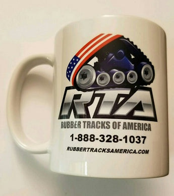Rubber Tracks of America Brand Coffee Mug Cup Tea Free Shipping