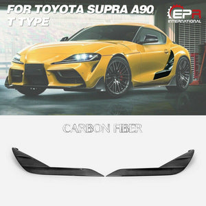 TRD Style Carbon Fiber Door Garnish Kit For Toyota 2020 Supra A90 T Type L & R