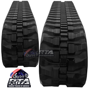 2 Rubber Tracks Fits Yanmar VIO80 450X83.5X74 18""