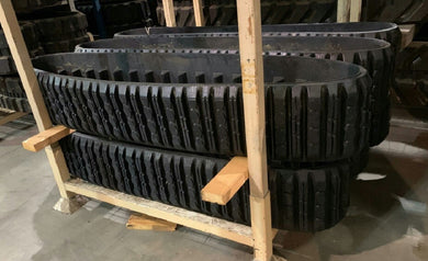 2 Rubber Tracks Fits - ASV RC30 PT30 11X4X37
