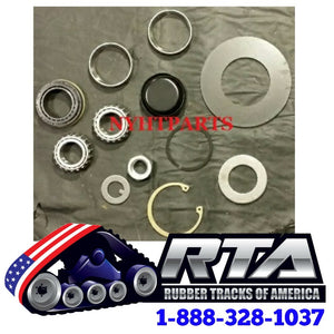 "10"" Middle Bogie Wheel Bearing Repair Kit - Fits 247 247B 257 257B Free Shipping"