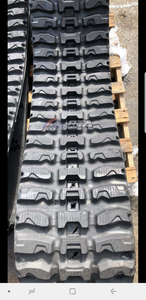 "2 Rubber Tracks Fits JCB T180 320X86X50 13"" Wide Q-Tread"