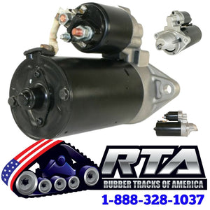 One 339-2900 12 Volt Starter Motor Gp Fits - CAT 247B Free Shipping