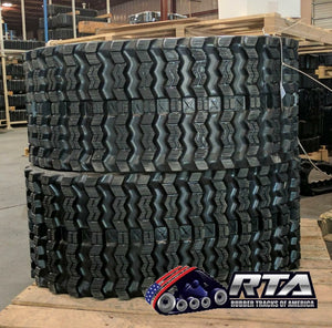 "2 Rubber Tracks Fits John Deere CT323D 323D 320X86X52 ( 13"" ) Free Shipping"