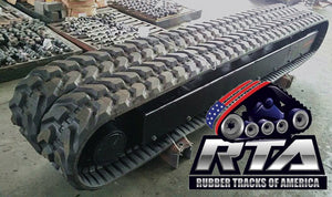 2 Rubber Tracks Fits Kobelco B53 450X81X74