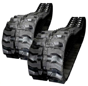 2 Rubber Tracks Fits Case 15 , 15 -Maxi 16-Maxi 16RTN CX16 230X96X31