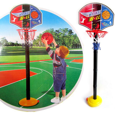 Childrens Basketball Stand Adjustable Outdoor Indoor Sports Portable l Hoop Toy Gift Set StandBackboard Kit