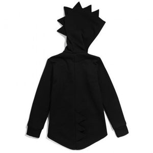 Children's Kid Baby Outerwear Jacket Dinosaur Style Hooded Headwear Coat Clothes