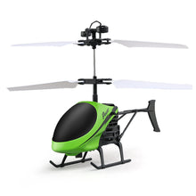 Flying Mini RC Infraed Induction Helicopter Aircraft Flashing Light Toys For Kid