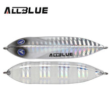 ALLBLUE New SEABLUE Metal Jig Spoon 25G 40G Artificial Bait Shore Fishing Jigging Super Hard Lead Fish Sea Bass Fishing Lure