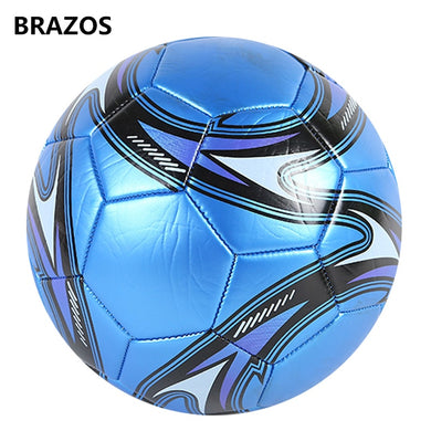 Size 5 Leather Soccer Ball Official Training Football Ball Competition Balls Outdoor