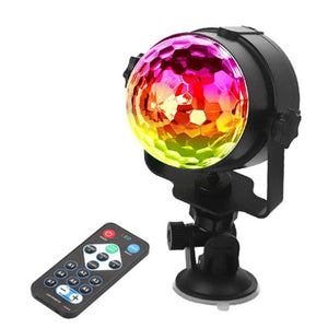 Remote Control Version USB Car Hyun Mai Light Household Car Music Light Car Entertainment Dj Lamp LED Christmas Day Light Contro