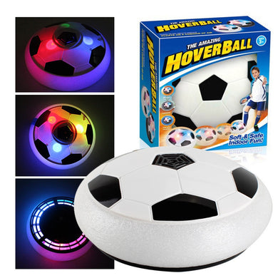 Air Power Soccer Football Sport Children lighting Toys Training Indoor Outdoor Hover Ball with Foam Bumpers