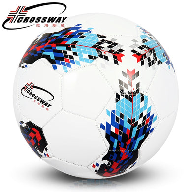CROSSWAY Official Standard Size 3 4 5 Soccer Ball Men Kids Outdoor Training With Inflator Net Bag