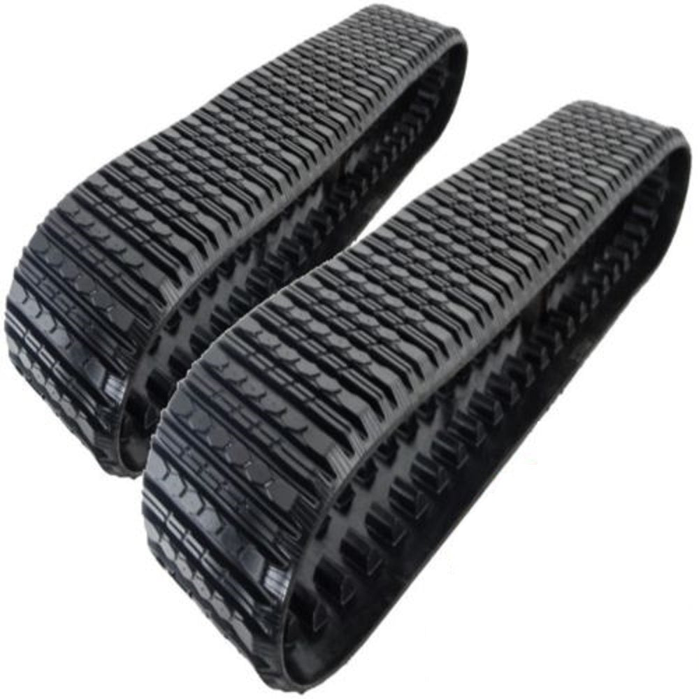 2 Rubber Tracks Fits ASV RC85 RC100 RCV PT100 18X4X51 18
