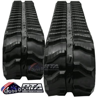 2 Rubber Tracks - Fits Vermeer G10X15 230X72X54 Free Shipping