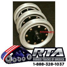 "14"" Idler Group with DuroForce Alloy Wheels Fits ASV HD4500 HD4520 DX4530"