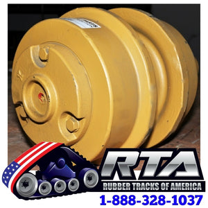 One Top Carrier Roller - Fits Case 450 Crawler Loader CA349 Free Shipping