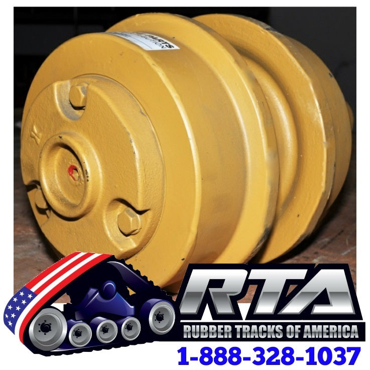 One Top Carrier Roller - Fits Case 855C Crawler Loader CA349 Free Shipping