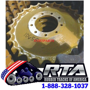 One Sprocket Assy - Fits John Deere 450J Dozer ID655 Free Shipping
